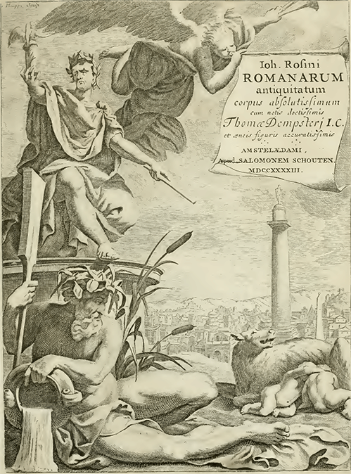 Rosinus Title Page