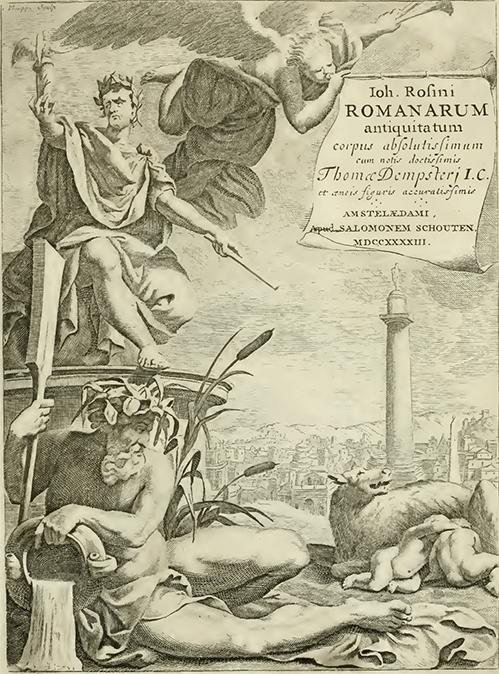Rosinus Title Page